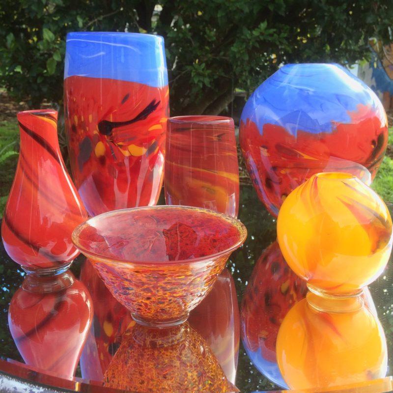 Art glass landscape by Gerry Reilly-40