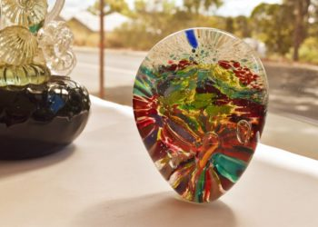 Art glass landscape by Gerry Reilly-01