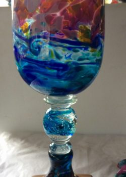 Art glass landscape by Gerry Reilly-28