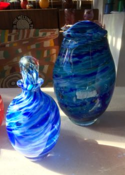 Ocean Blue Keepsake Urns