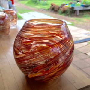 Art glass tableware by Gerry Reilly -02