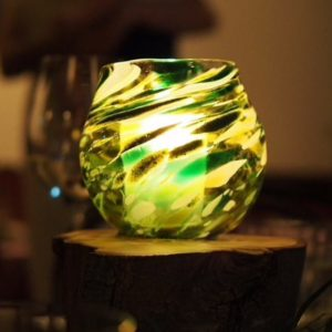 Art glass tableware by Gerry Reilly -13