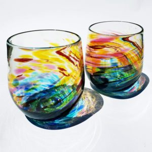 Art glass tableware by Gerry Reilly -41