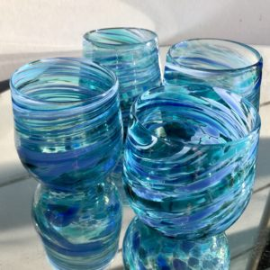 Art glass tableware by Gerry Reilly -43